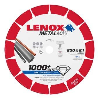 Lenox MetalMax Cut Off Diamond Blade 230 x 2.1mm