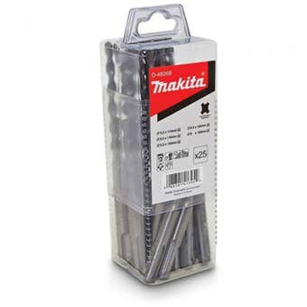 Makita SDS Plus Standard Drill Bit Set - 25 Piece