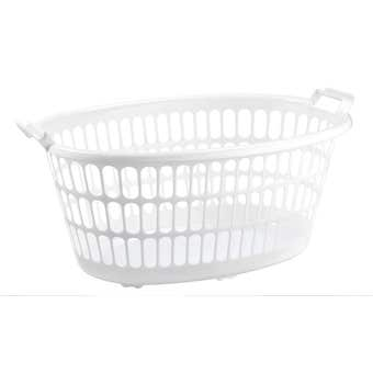 Oval Laundry Basket 35L