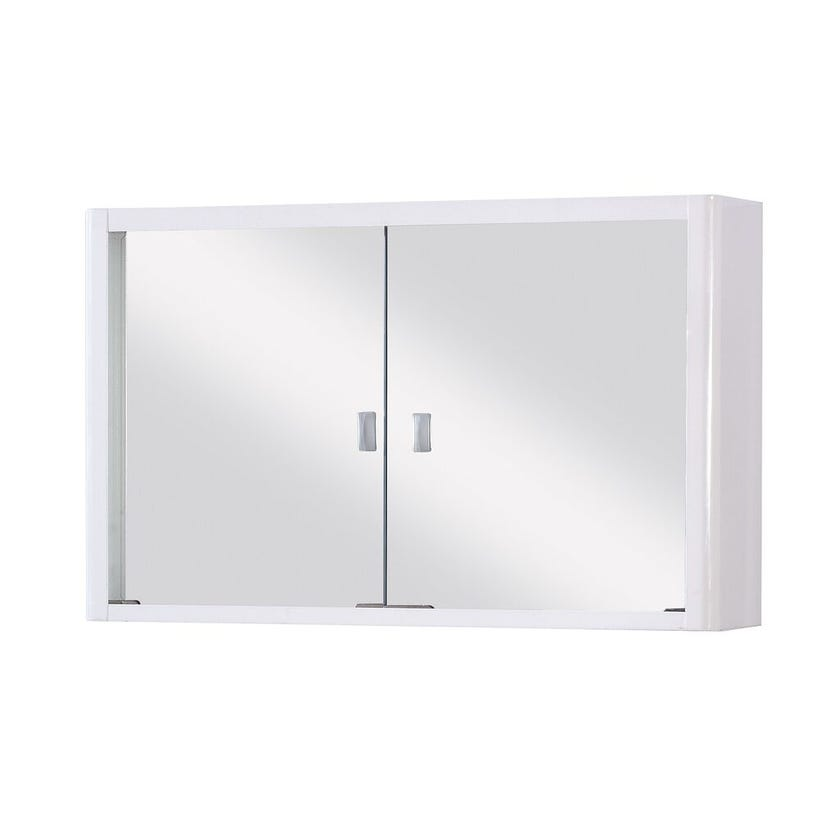 Cartia Metal Mirror Cabinet 600mm