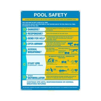 Sandleford Pool Resuscitation Chart Large