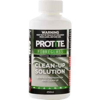 Protite Fibreglass Clean Up Solution 250ml