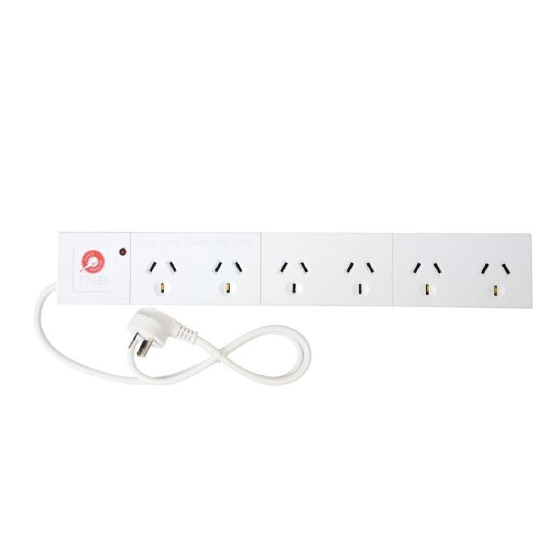 Arlec Surge Protect Powerboard 6 Outlet