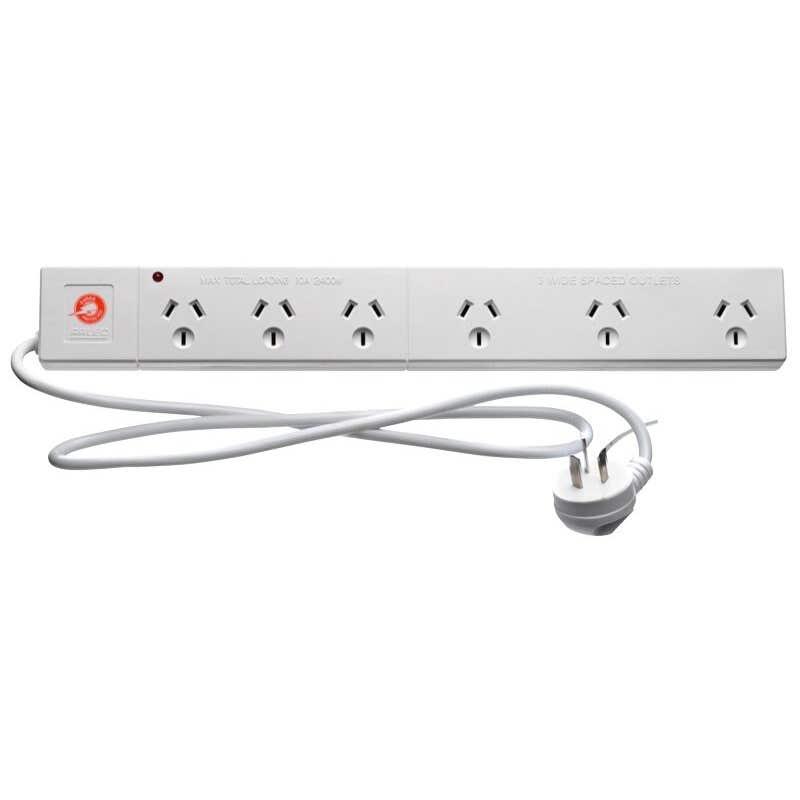 Arlec Powerboard 6 Outlet