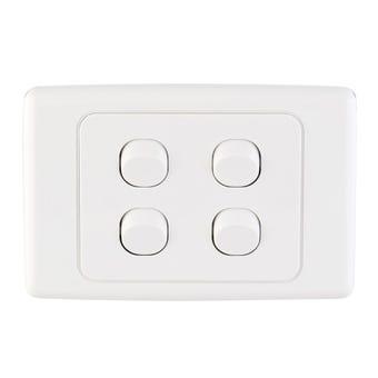 Tradeline Quad Light Switch