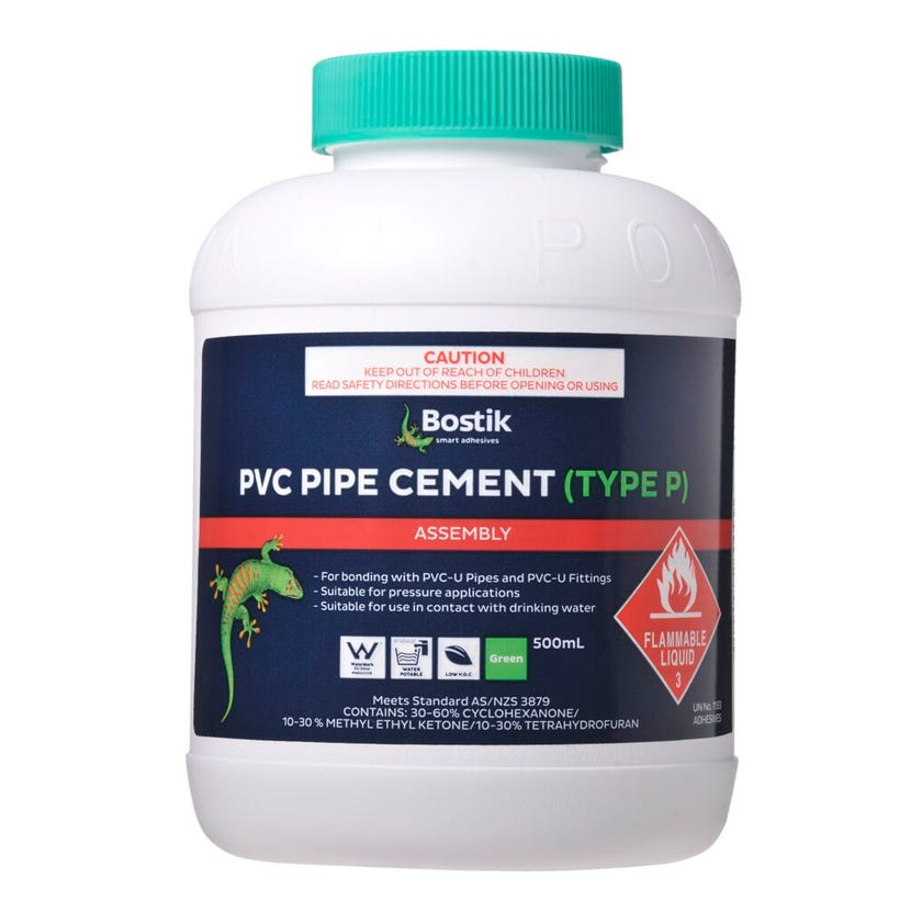 Bostik Solvent Cement Type P Green 500ml