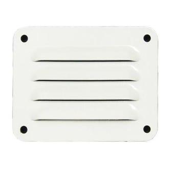 Haron Aluminium Pressed Vent White 100 x 75mm