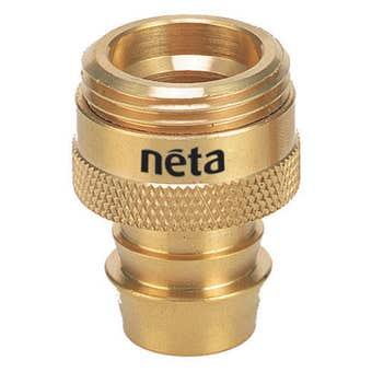 Neta Spray Adaptor Screw Brass 18mm