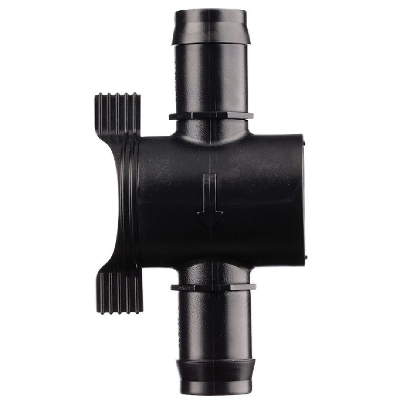 Neta Barb In-Line Valves With O-Rings 25mm