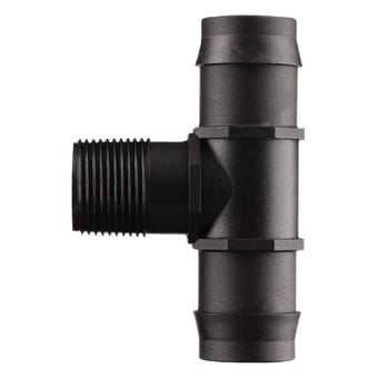 Neta Tee Barb 25mm x 19mm Male BSP