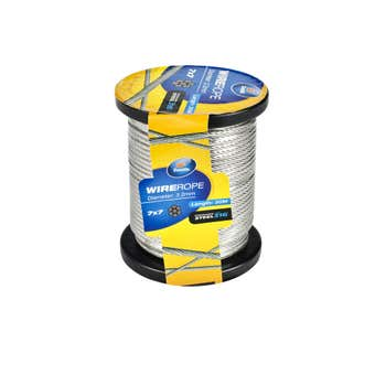 Zenith Wire Rope Stainless Steel 3.2mm x 30m