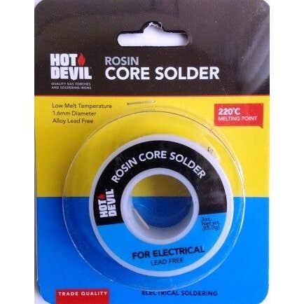 Hot Devil Rosin Core Solder Electrical