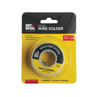 Hot Devil Solid Wire Solder Plumbing and Auto