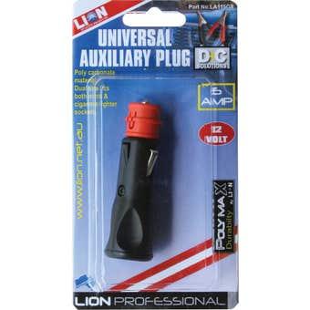 Lion Universal Auxiliary Plug 12V 16 Amp