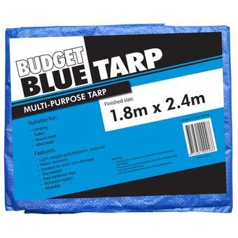 Budget Blue Tarp 1.8 x 2.4m