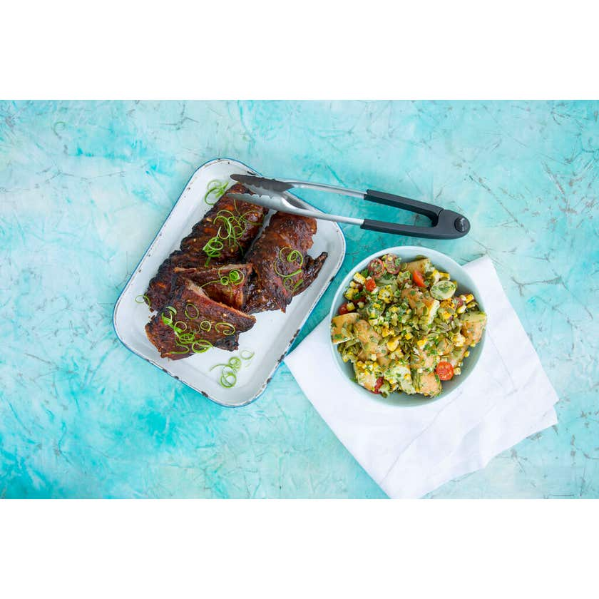 Grillman BBQ Stainless Steel Tongs