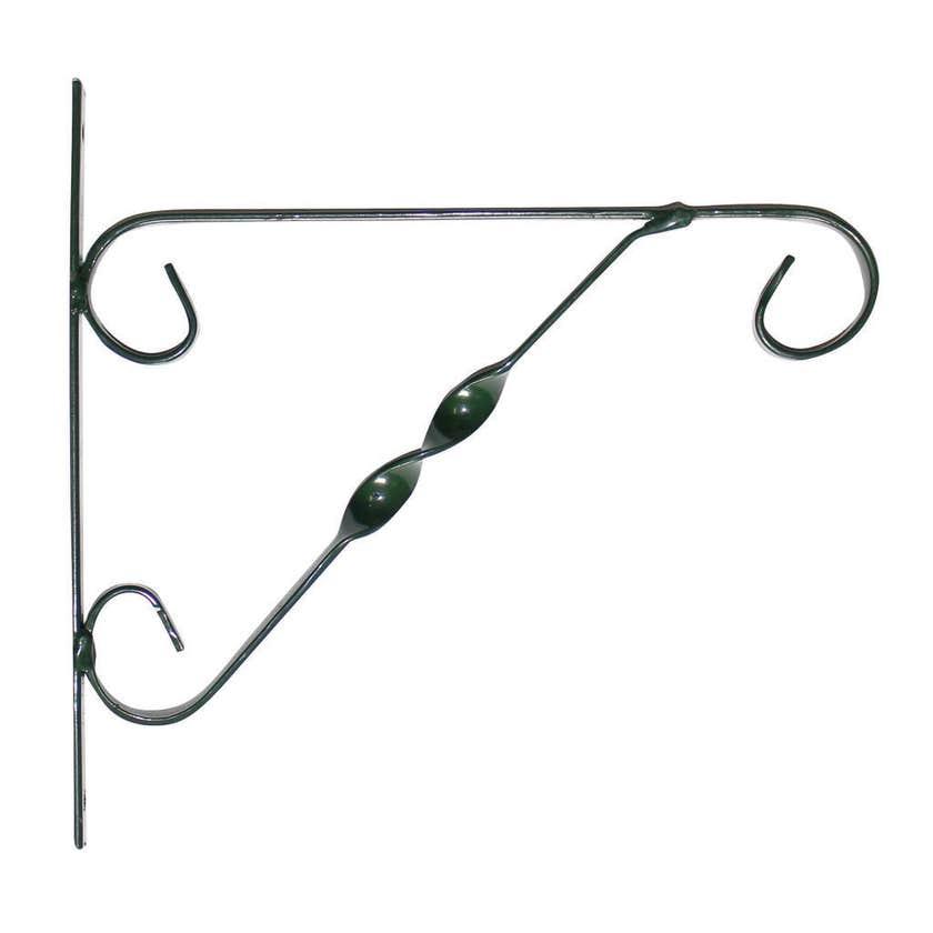 Mezina Hanging Basket Bracket Green 25cm