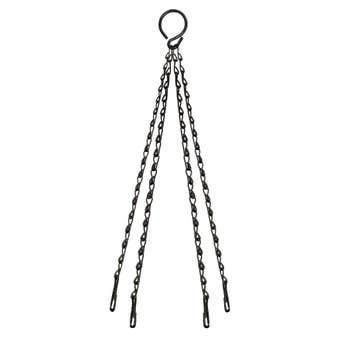 Replacement Hanging Basket Chain Black 450mm