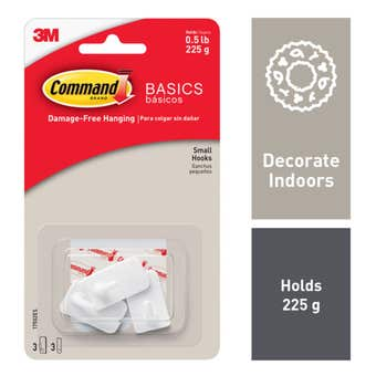 Command Utility Hook Small - 3 Pack