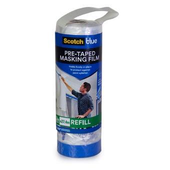 Scotch Blue Pre-Taped Masking Film Refill 1.2 x 27.4m