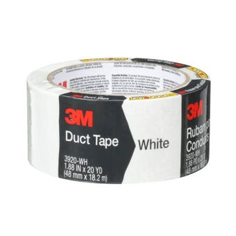 3M Duct Tape White 48mm x 18.2m