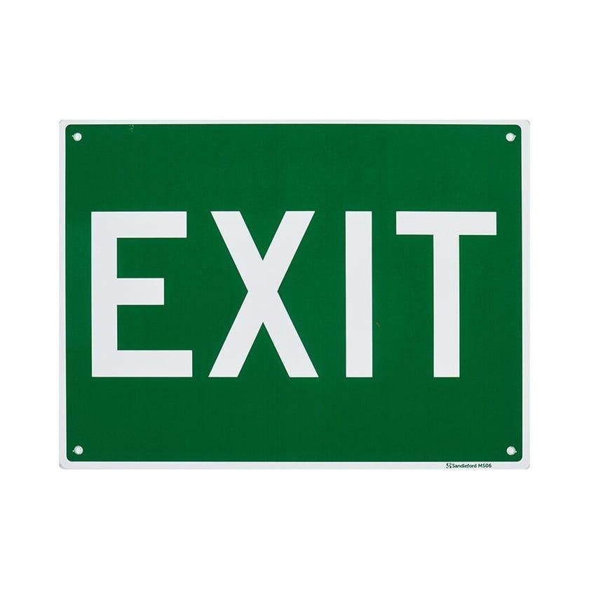 Sandleford Exit Sign