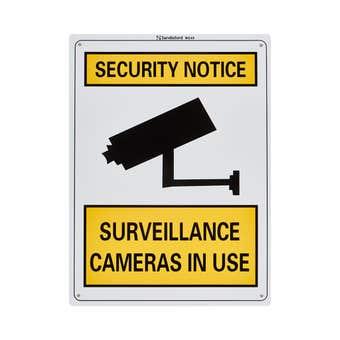 Sandleford Surveillance Cameras In Use Sign Medium