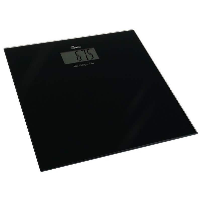 Propert Bathroom Scale Black
