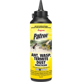 Amgrow Patrol Insecticide Ant/Wasp/Termite Dust 350g