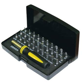 Stanley Security Screwdriver Bit Kit - 31 Piece