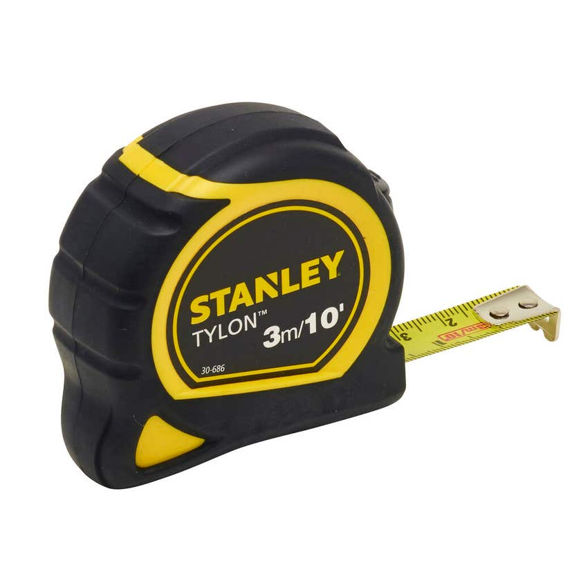 "Stanley Tylon Tape Measure 3m/10"""