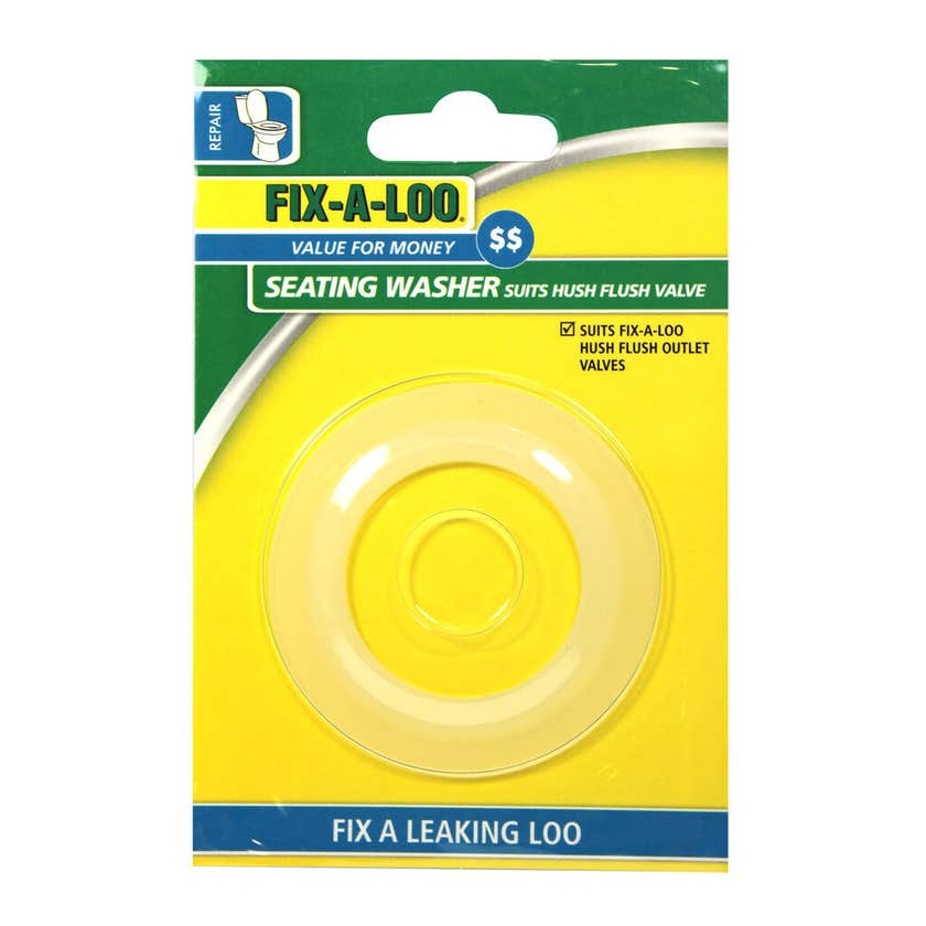 FIX-A-LOO Seating Washer Suits Hush Flush Valve