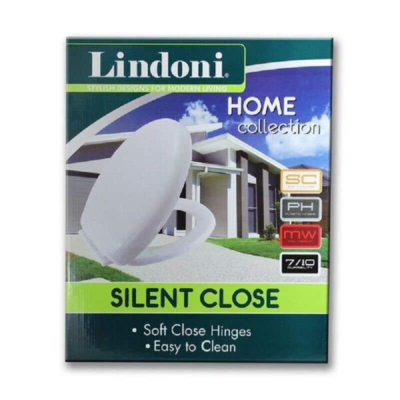 Lindoni Silent Close Toilet Seat White