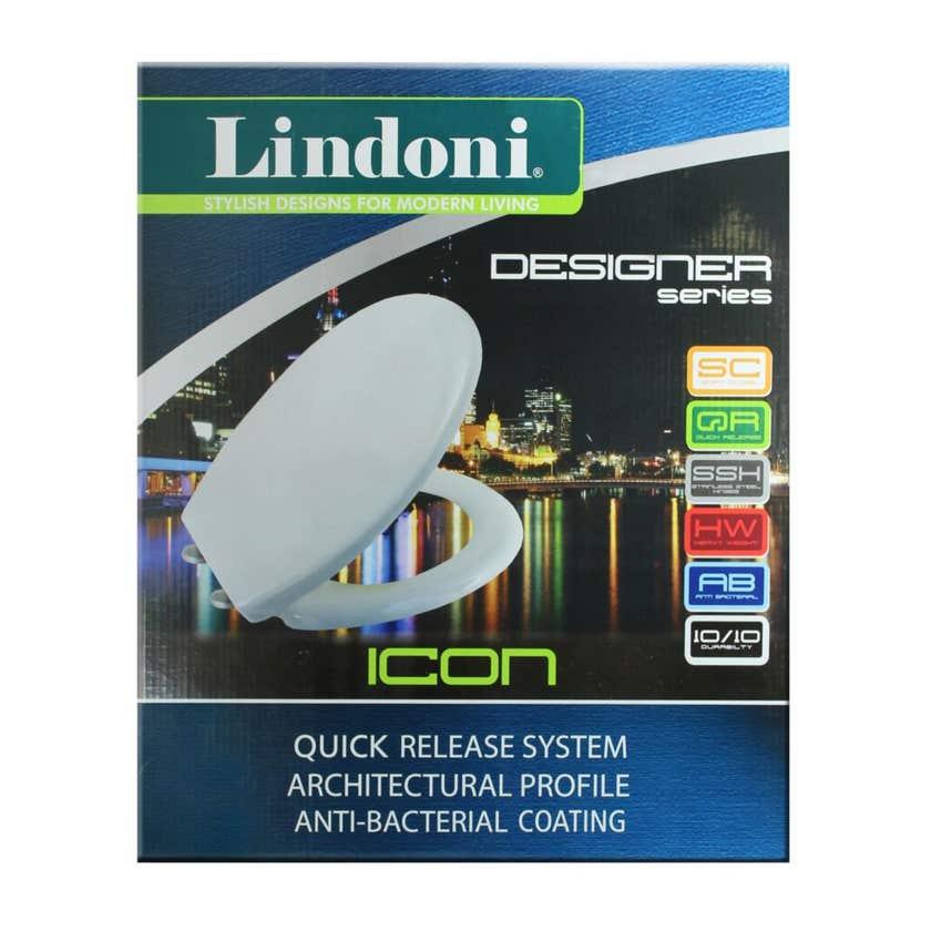 Lindoni Icon Toilet Seat White