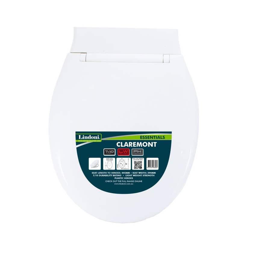 Lindoni Claremont Toilet Seat White