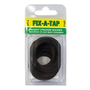 FIX-A-TAP Basket Strainer Washer Kit Multi-pack