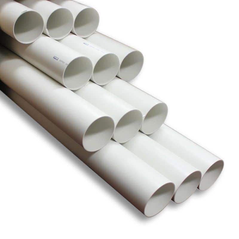 Holman PVC DWV Pipe 50mm x 1m