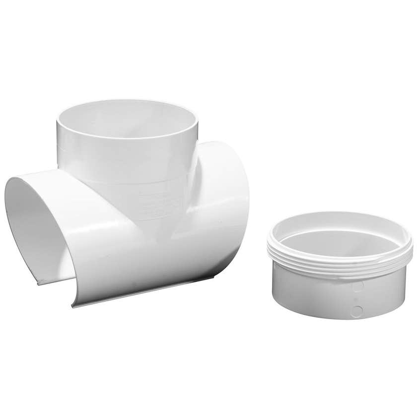 Holman PVC Snap Tee 90mm