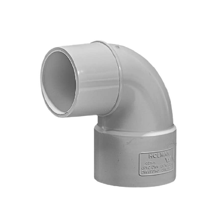 Holman DWV PVC Bend Spigot 40mm 88 Deg