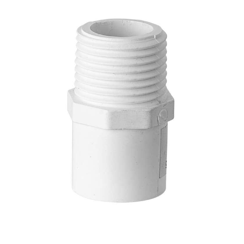 "Holman PVC Pressure Valve Take Off Adaptor 15mm x 1/2"""