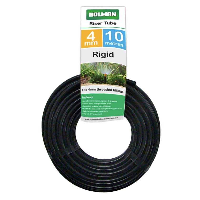Holman Low Density Riser Tube 4mm x 10m