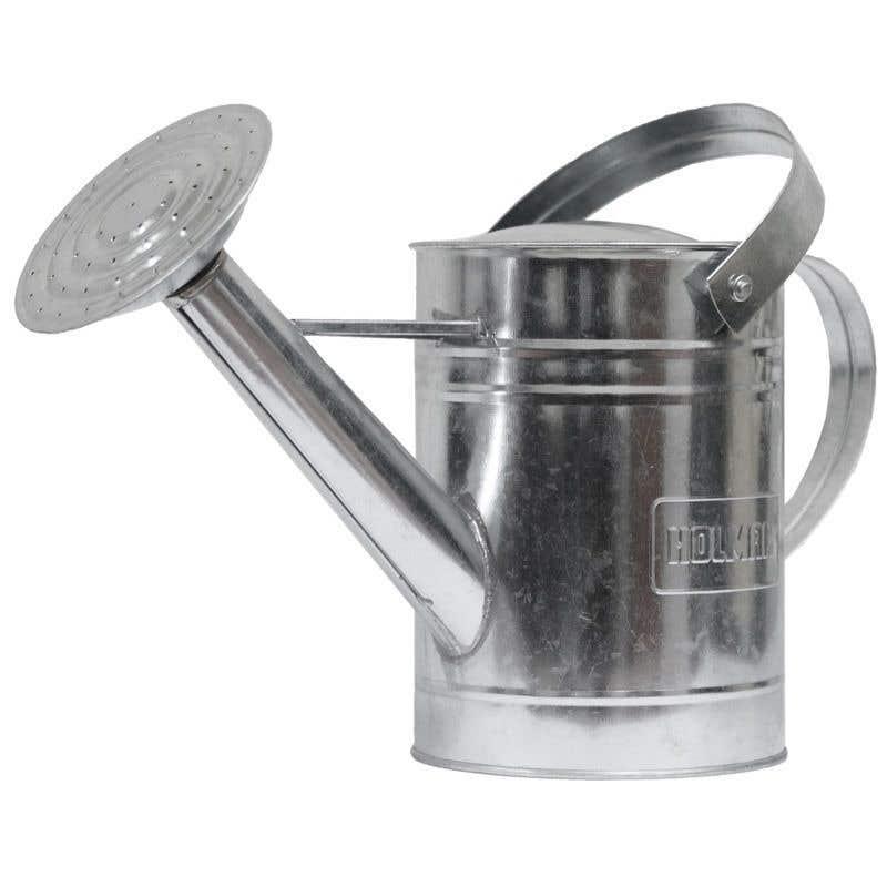 Holman Watering Can Galvanised 1.8L