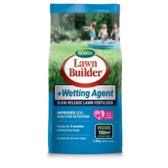 Lawn Builder Wetting Agent Lawn Fertiliser 2.5kg