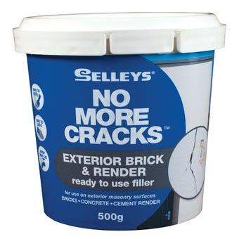 Selleys No More Cracks Exterior Brick & Render Filler 500g