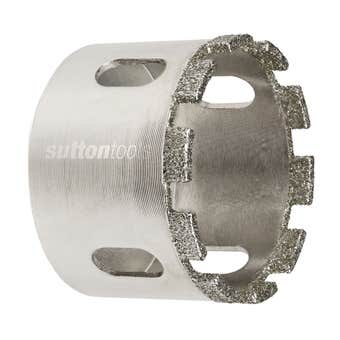 Sutton Tools Diamond Holesaw Grit Segmented Set - 5 Piece