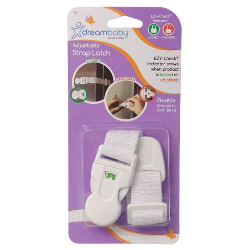 Dreambaby EZY-Check Adjustable Strap Latch