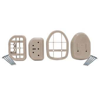 Dreambaby Spacers for Retractable Gate White