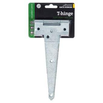 Trio Light Duty T-Hinge Zinc Plated 200mm - 2 Pack