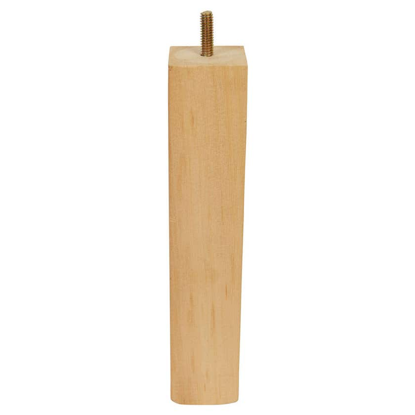 Trio Ezyas Square Plain Leg Wood 230mm