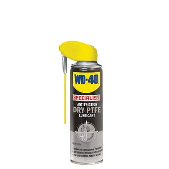 WD-40 Specialist Anti-Friction Dry PTFE Lubricant With Smart Straw 150g